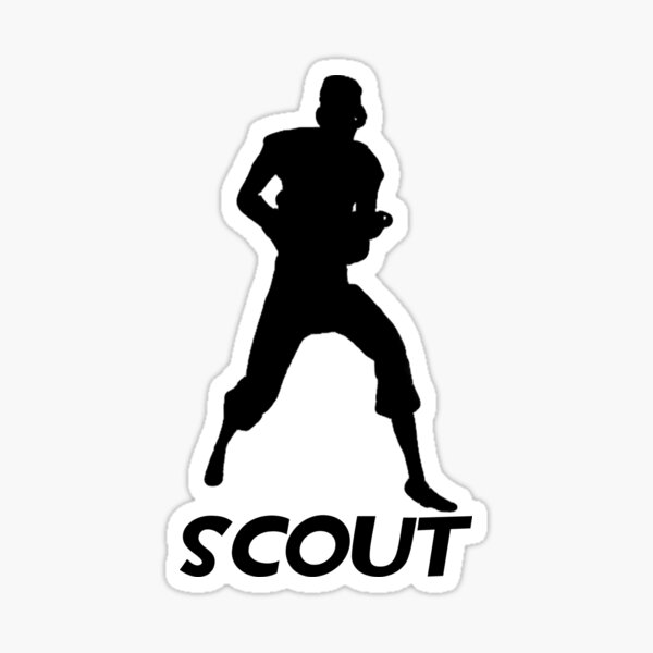 Tf2 Scout Sticker