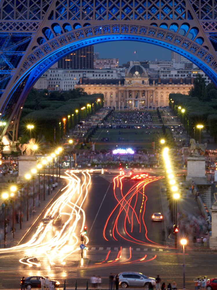 Paris lights by wooly
