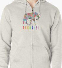 Paradise - Coldplay Zipped Hoodie