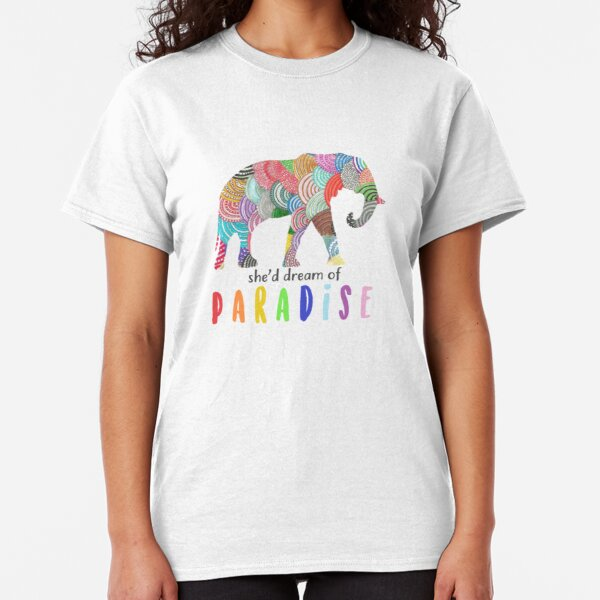 Paradise - Coldplay Classic T-Shirt