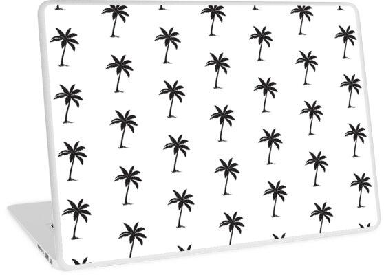 u0026quot palm tree u0026quot  laptop skins by quasaibonsai