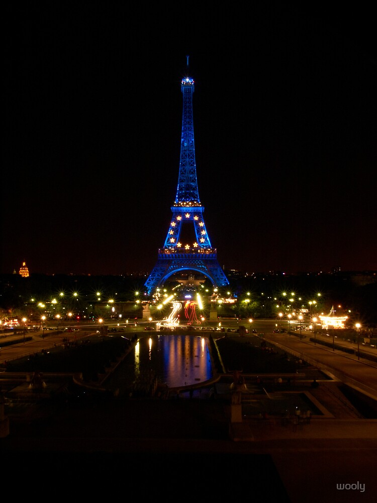 Paris Night Lights by wooly
