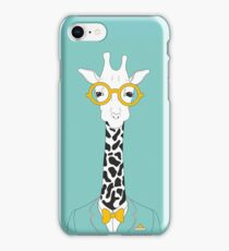 Sophisticated Giraffe iPhone Case/Skin