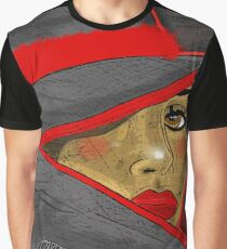 Lady in Red Ebony Edition Graphic T-Shirt