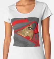 Lady in Red Ebony Edition Women's Premium T-Shirt