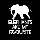 Elephants are my favourite by jazzydevil