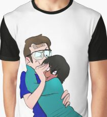 Jimmy & Manjusha Graphic T-Shirt