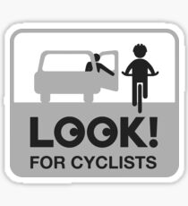 Look for Cyclists Sticker