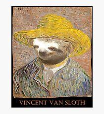 Vincent Van Sloth Photographic Print