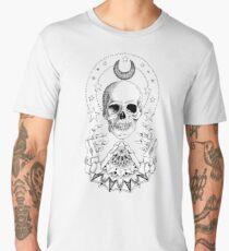 Power Skull Mandala Men's Premium T-Shirt