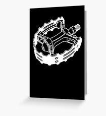 Pedal Hard Greeting Card