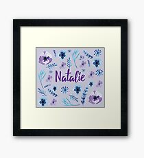 Bridal Personalised  Framed Print