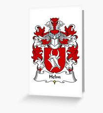 Helm Greeting Card