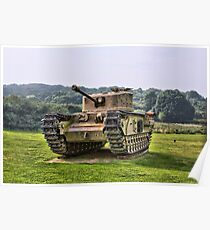 Tank - HDR Poster