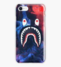 BAPE SHARK | Blue, Red, White  iPhone Case/Skin