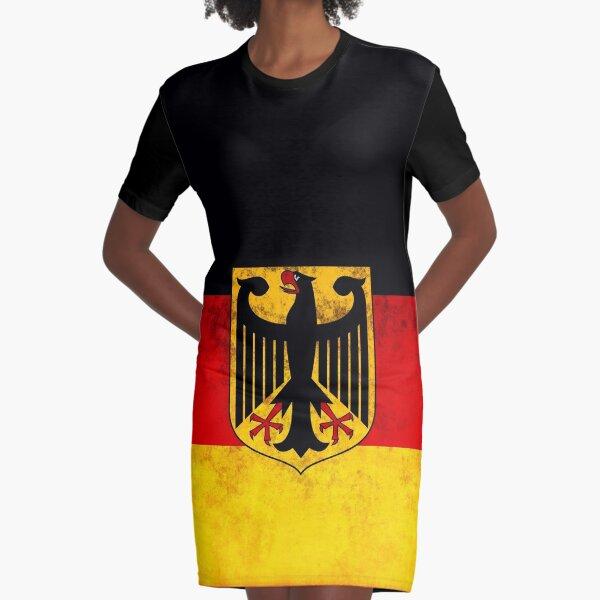 GERMANY Graphic T-Shirt Dress