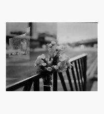 Street Flowers Photographic Print