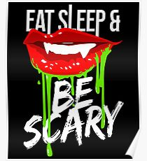 Be Scary - Halloween Poster