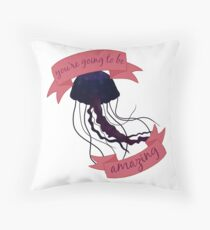 the voidfish Throw Pillow