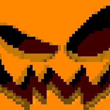 Pixel Pumpkin (Alt) by BlazeHedgehog