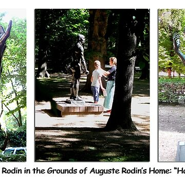 Paris Series 05 Musee Rodin Statue Garden by keithcr