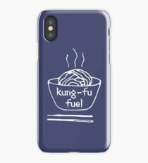Kung-fu fuel iPhone Case/Skin