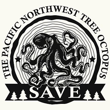 Save the Pacific Northwest Tree Octopus by FR3DXVII