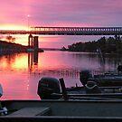 Bridge at Dawn by Jane Best