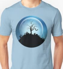 graveyard under the moon T-Shirt