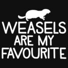 Weasels are my favourite by jazzydevil