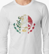Gold and Silver Mexican Coat Of Arms T-Shirt