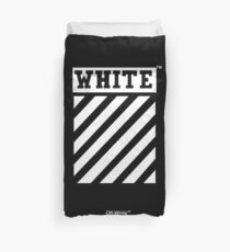 Off-White Black Duvet Cover