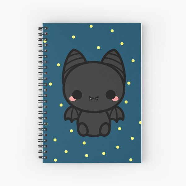 Cute spooky bat Spiral Notebook