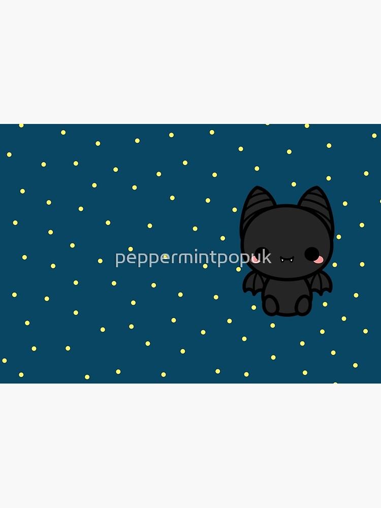 Cute spooky bat by peppermintpopuk
