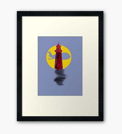 Lighthouse Air Framed Print