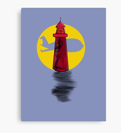 Lighthouse Air Canvas Print