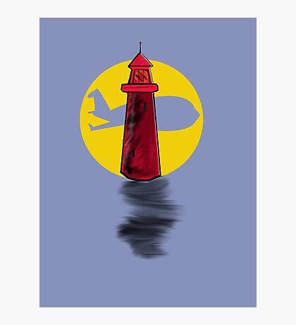 Lighthouse Air Photographic Print