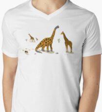 Brachiosaurus Men's V-Neck T-Shirt