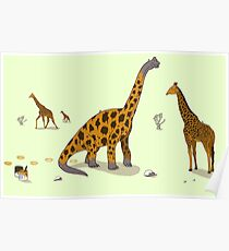 Brachiosaurus Poster