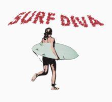 Surf Diva by TeeArt