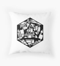 20 Sides Dungeon Throw Pillow