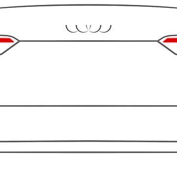 Audi A5 F5 2016 Back by Grafikus