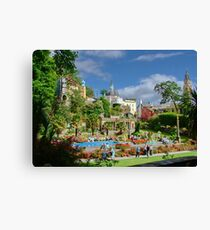 Central Plaza, Portmeirion, North Wales, UK Canvas Print