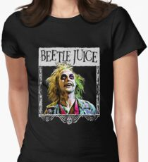 Beetlejuice Women's Fitted T-Shirt