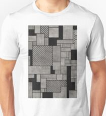 Abstract concrete pattern T-Shirt