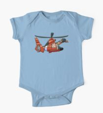 US Coast Guard Giraffe One Piece - Short Sleeve