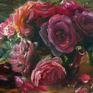 Red Roses by Ryn  Shell