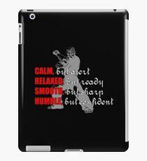 Warrior 2 iPad Case/Skin