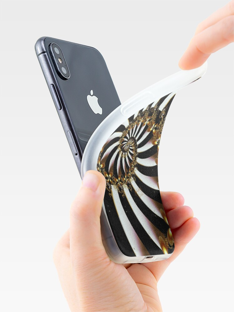 Alternate view of Butterfly Vortex iPhone Case & Cover