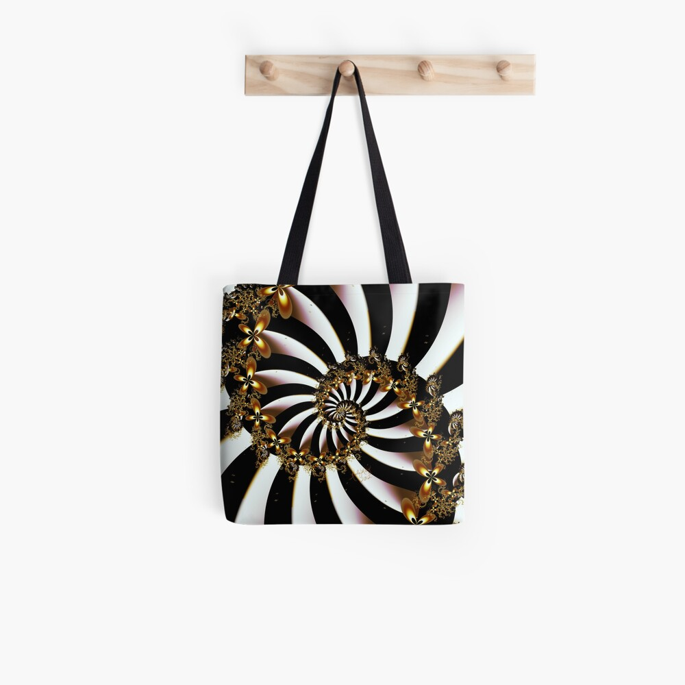 Butterfly Vortex Tote Bag